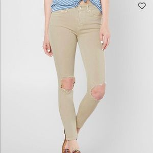 Free People Khaki, skinny, high rise